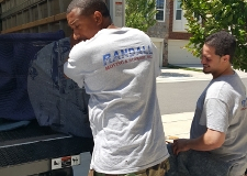 Moving a family to their new townhouse in Gainesville, VA